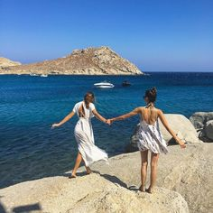 Mykonos: Where the Models and DJs Go To Play Photos | W Magazine