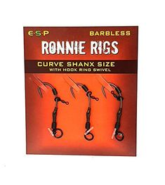 rigs per pack Super strong & Durable Long-life points rotation Perfect for pop-up presentation Optimum hooking potential Curve Shanx