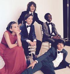 The cast of Stranger Things, 2017 SAG Awards.