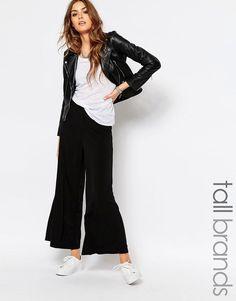 Noisy May Tall Wide Leg Soft Jersey Pant