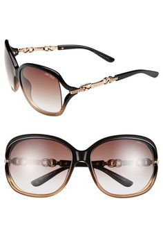 Jimmy Choo 60mm Oversized Sunglasses available at #Nordstrom