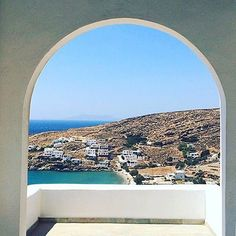 Wonderful view of Tinos island (Τήνος). In this island there are more than 40 traditional villages to explore and many beautiful beaches to visit ! Cyclades Islands, Photos Du, Cool Photos, Paros, Mykonos, Greek Islands, Belle Photo, Beautiful Beaches, Airplane View