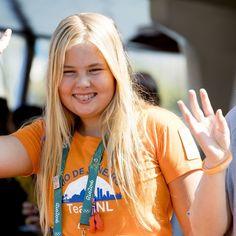 Foto's: Koningspaar met dochters bij Olympische Spelen