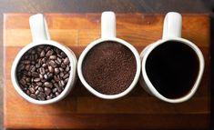 Whole bean or ground, the choice is yours. Red Eye Coffee, Thing 1, Dark Roast, Red Eyes, Gourmet Recipes, Tableware, Food, Bloodshot Eyes, Dinnerware
