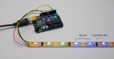 RGB LED, Processing, Firmata and Arduino - Nick
