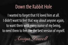 Amiya Powell's combination of erotic romance and mystery is a unique adventure!