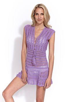 Crochê: Saidas, Vestidos, Roupas - modelos