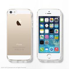 Soft Clear iPhone 5s case, iPhone 5s clear case, iPhone 5s gold case, iPhone 5s silver case, iPhone 5s soft case, DIY kit on Etsy, US$16,99