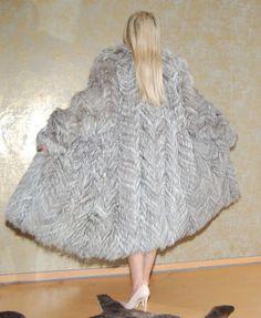 M-7; manteau de fourrure renard manteau renard argenté silver Fox Fox лиса fourrure fur, taille M