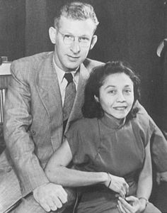 Eddie & Alex's parents, Jan and Eugenia Van Halen circa 1951