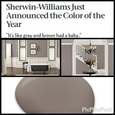 New Color of the Year! #PoisedTaupe #trend #beautiful #neutral #dream #dreamhome…