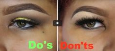 Hooded Eyes MakeUp Do and Don't   Easy Life HacksEasy Life Hacks