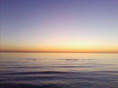 Sunset in RIccione (Italy)