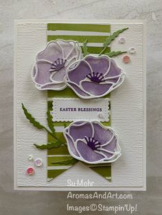 Painted Poppies Easter Card - Aromas and Art Remembrance Day Activities, Remembrance Day Poppy, Easy Drawing Tutorial, Poppy Craft For Kids, Memorial Day, Veterans Day Poppy, Spring Art Projects, Poppy Cards, Diy Kit