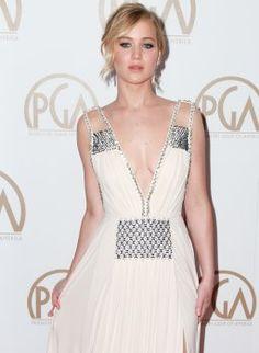 Jennifer Lawrence trägt Prada!