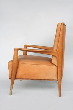 Gio Ponti Attributed, Armchair, 1950s. @Deidré Wallace