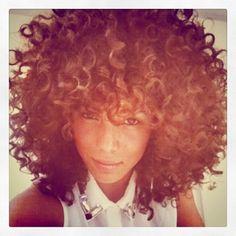 Hair Lusting :: Curly Bangs