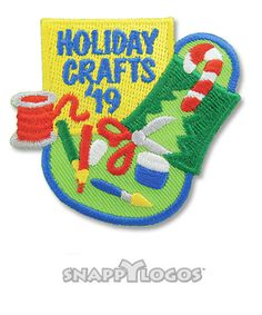 Holiday Crafts '19 Girl Scout Fun Patches, Cool Patches, Girl Scouts, Holiday Crafts, Girl Guides, Brownie Girl Scouts