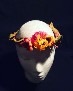 Prop flower crown created by Milicent Fambrough Photography credit Milicent Fambrough copyright 2016