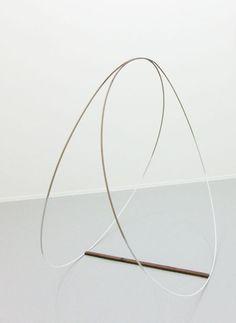 """Danish-born artist Lars Worm (b. """"o_o"""", 2013 Mobile Art, T Art, Wire Art, Art Object, Installation Art, Sculpture Art, Design Art, Contemporary Art, Art Photography"""