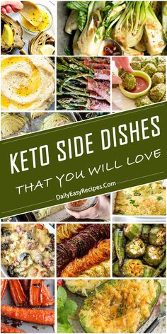 Keto Side Dishes That You Will Get Hooked – Yummy – Best Ideas for Dinner Ketogenic Recipes, Low Carb Recipes, Diet Recipes, Cooking Recipes, Healthy Recipes, Keto Foods, Ketogenic Diet, Roasted Vegetable Medley, Clean Eating
