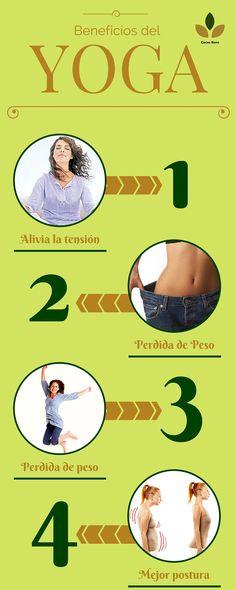 ¡¡4 simples beneficios que practicar yoga te da!! #VidaYSaludOn NP