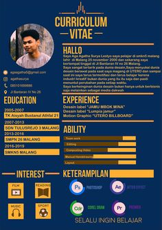 When the weather gets warmer and less wet, there is enough time to work on your garden and create so Creative Cv Template, Job Resume Template, Powerpoint Design Templates, Resume Design Template, Creative Resume, Resume Software, Cv Curriculum Vitae, Curriculum Vitae Template, Corel Draw Design