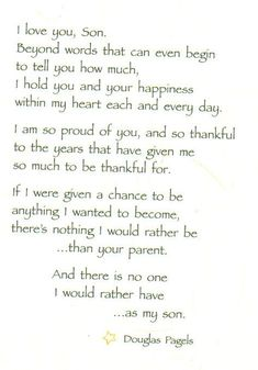 Trendy birthday quotes for son from mom poems heart Ideas Mother Son Quotes, Mom Quotes From Daughter, My Children Quotes, Quotes For Kids, Child Quotes, Poems About Mothers Love, Poems About Moms, Son Birthday Quotes, Birthday Wishes