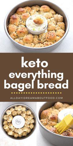 Low Carb Recipe Books, Lowest Carb Bread Recipe, Low Carb Bread, Keto Bread, Low Carb Keto, Low Carb Recipes, Bread Recipes, Healthy Low Calorie Breakfast, Keto Diet Breakfast