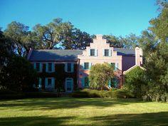 Medway Plantation South Elevation - Berkeley County, South Carolina (Rice, Cotton)