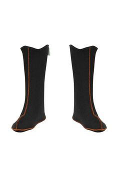 SHORT WARM SOCKS FOR BOOTS Model: KL09/S The warm socks are made of boucle and polyester mousse with thickness of 1,5mm. The gaiters suit for the rain boots. This product ensures an excellent protection of feet against cold and helps to keep rain boots' cleanness. The product is recommended for all kinds of fishing activities, leisure, professionnal fishing and fish processing. Height of warm socks – 28cm.