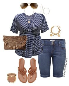 Size Cruise Collection - Casual Outfits Plus Size Cruise Capsule Outfits - Casual Vacation Wear- Plus Size Fashion - Alexa Webb - Plus Size Cruise Capsule Outfits - Casual Vacation Wear- Plus Size Fashion - Alexa Webb - Cruise Outfits, Capsule Outfits, Summer Outfits, Vacation Outfits, Fall Outfits, Summer Dresses, Curvy Fashion, Look Fashion, Fashion Outfits