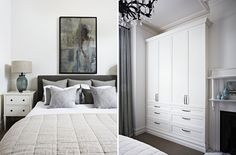 The colours and the bedside table  Interior Design Williamstown | Interior Decoration - Bloom