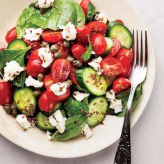 Zayıflatan ve yağ yakan diyet listesi! Birinci gün... Caprese Salad, Health Fitness, Diet, Food, Essen, Meals, Fitness, Banting, Yemek