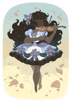 Violin -  the invisible musician by Xamag.deviantart.com