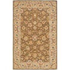 Safavieh Mirco Hand-hooked Chelsea Kerman Brown Wool Rug (8'9 x 11'9) - Overstock™ Shopping - Great Deals on Safavieh 7x9 - 10x14 Rugs