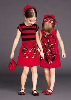 Learn about these stylish kids clothes Fashion Kids, Little Girl Fashion, Little Girl Dresses, Girls Dresses, Dresses 2016, Prom Dresses, Summer Dresses, Dolce And Gabbana Kids, Outfits Niños