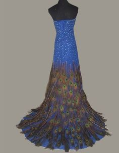 Peacock+Wedding+Dress   Related Pictures peacock feathers wedding dress china