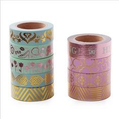 Country Life Print Washi tape Car House fire balloon with Box  15mm x 10M  1pc