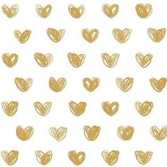 Buy online Love in Gold Wallpaper by Marley+Malek Kids. Cute gold love heart wallpaper on a white base. Roll Size: wide x long repeat. Wallpaper is untrimmed and unpasted Lead time weeks. Nursery Wallpaper, Modern Wallpaper, Kids Wallpaper, Nursery Wall Decals, Cute Wallpaper Backgrounds, Cute Cartoon Wallpapers, Wallpaper Doodle, Lavender Aesthetic, Purple Aesthetic