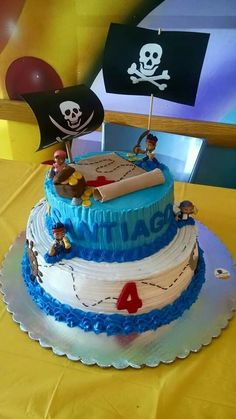 Pastel de Jake & los piratas by Sweet Bouquet en Chihuahua, Chih.