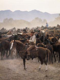 "John Wayne (Duke) Filming ""The Undefeated"" Premium Photographic Print by John…"