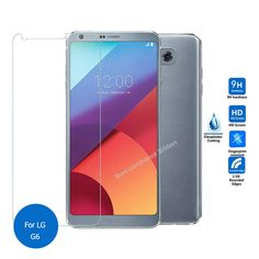 For Lg G6 Tempered Glass screen Protector 2.5 9h Safety Protective Film on G 6 H870 H871 H872 pelicula de vidro