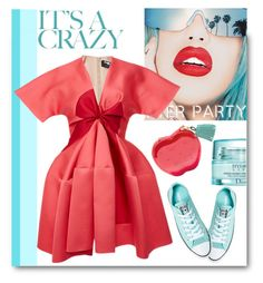 """""""It's Вeautiful Crazy"""" by cilita-d ❤ liked on Polyvore featuring Christian Dior, Rupaul and Paule Ka"""