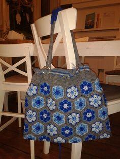 Afrikaanse bloem tas