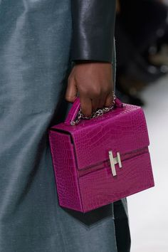 Take a Peek at Our Favorite Bags at Paris Fashion Week! There's a reason Paris holds the coveted final slot during Fashion Month. Considering the high volume of prestigious brands like Chanel, Louis Vuitton, Dior, Hermes Bags, Hermes Handbags, Purses And Handbags, Burberry Handbags, Coach Handbags, Luxury Bags, Luxury Handbags, Designer Handbags, Unique Handbags