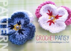 💮 Flor de Crochê Receita Amor - Perfeito Almofadas Pétalas -  /  💮 Crochet Flower Recipe Love - Perfect Pillows Pads Cushions Petals -
