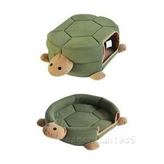 Pretty Green Turtle Shape Pet Cat Dog Bed House Cushion Mat 2 Uses Medium on eBay! Dog House Bed, Dog Bed, Turtle Time, Tortoise Turtle, Pet Vet, Love Your Pet, Animal Projects, Diy Stuffed Animals, Pet Gifts