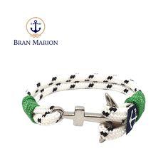Sligo Nautical Bracelet by Bran Marion Nautical Bracelet, Nautical Jewelry, Marine Rope, Handmade Bracelets, Color Combinations, Jewelry Collection, Campaign, Sea, Medium