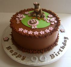 Horses Cake for Three Sisters by cakesbyashley, via Flickr This would be the best birthday cake ever! Description from pinterest.com. I searched for this on bing.com/images